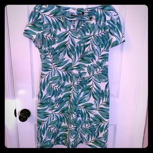 Tommy Hilfiger Tropical Print Sheath Dress